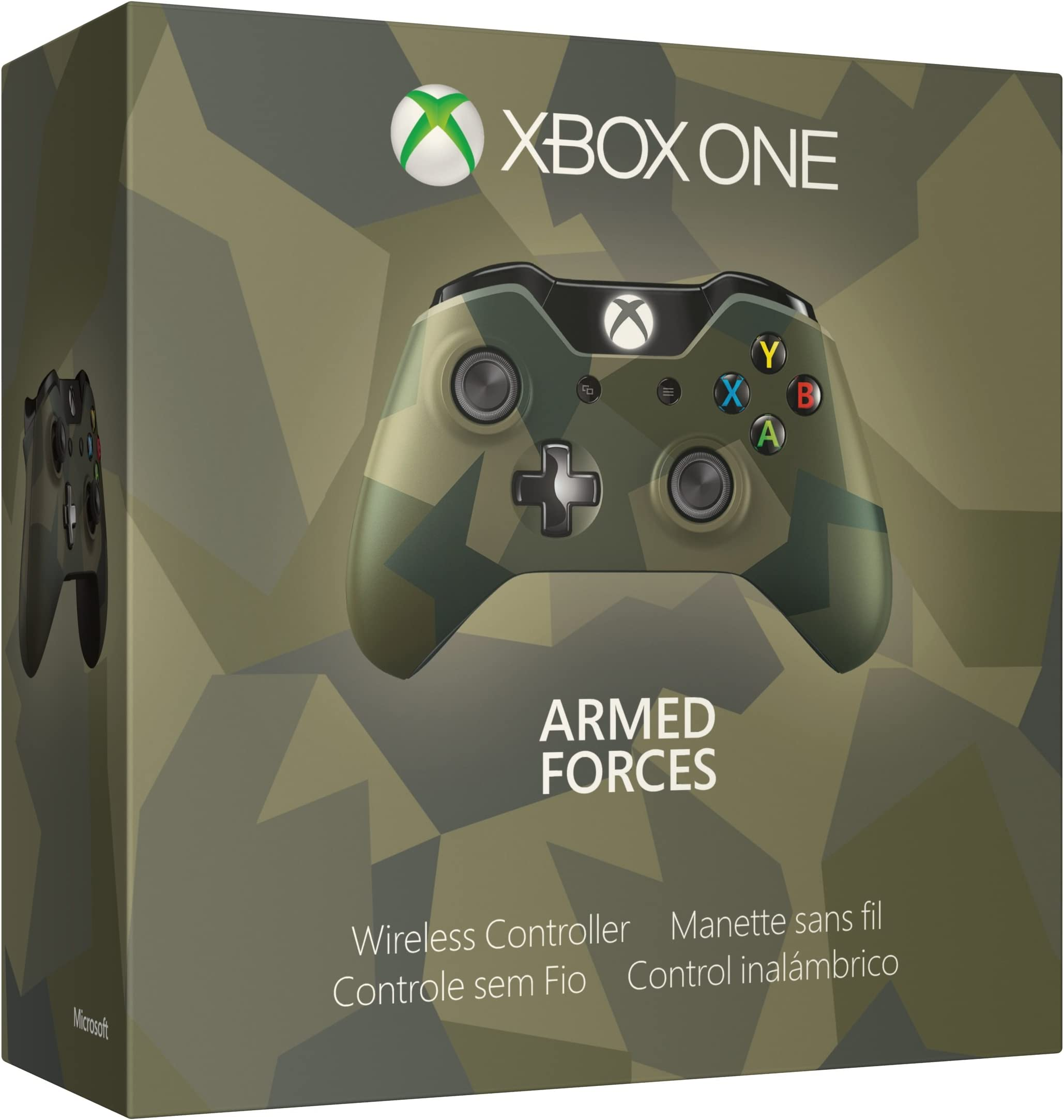 Amazon com: Xbox One Special Edition Armed Forces Wireless