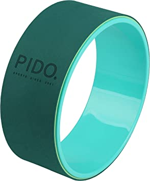 WWWW pido Fashion Yoga Wheel for Beauty Shaping Fitness Assist Yoga Circle Dharma Wheel Pilates Circle