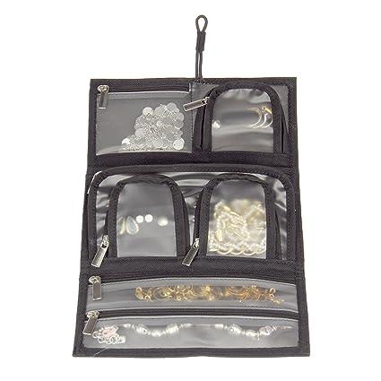 Amazoncom Household Essentials TriFold Travel Jewelry Organizer