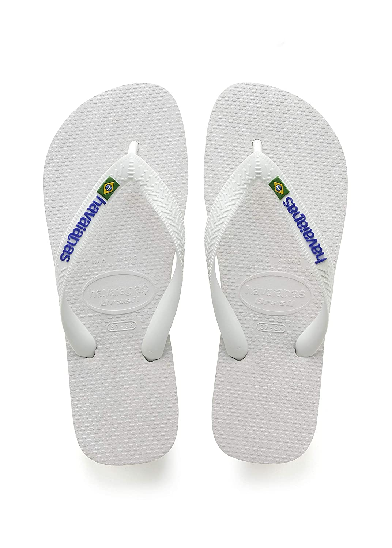 a63151137 Havaianas Brasil Logo, Unisex Adult's Flip Flops: Amazon.co.uk: Shoes & Bags
