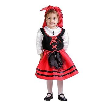 Disfraz de pastorcilla para niña - 18 meses: Amazon.es ...