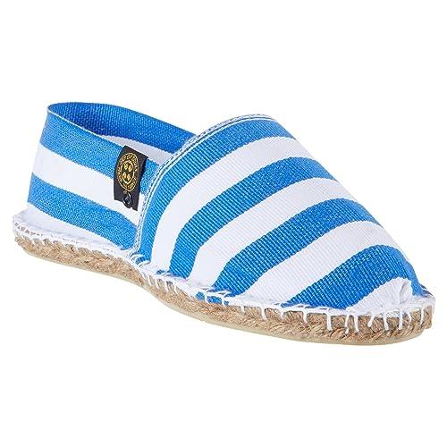 Art Of Soule | Alpargatas Planas sin Cordones - Originales y Auténticas - Fabricadas en Francia - Bicolor a Rayas - Biarritz: Amazon.es: Zapatos y ...