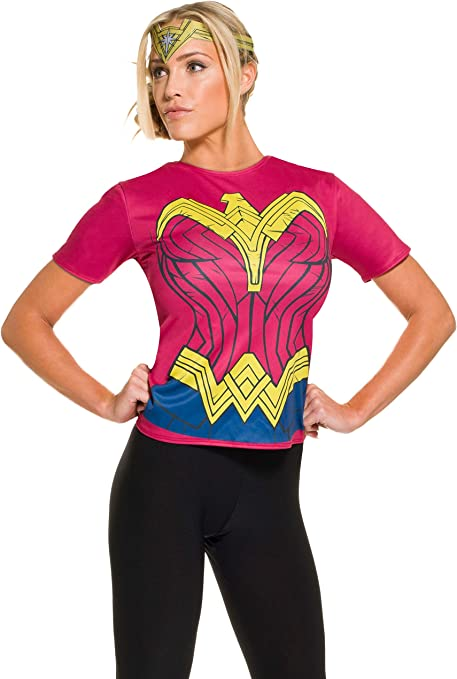 Kit disfraz de Wonder Woman Batman vs Superman para mujer: Amazon ...