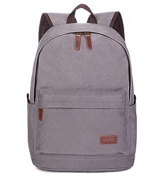 Amazon.com: Mochila de lona Tom Clovers, mochila de fin de ...