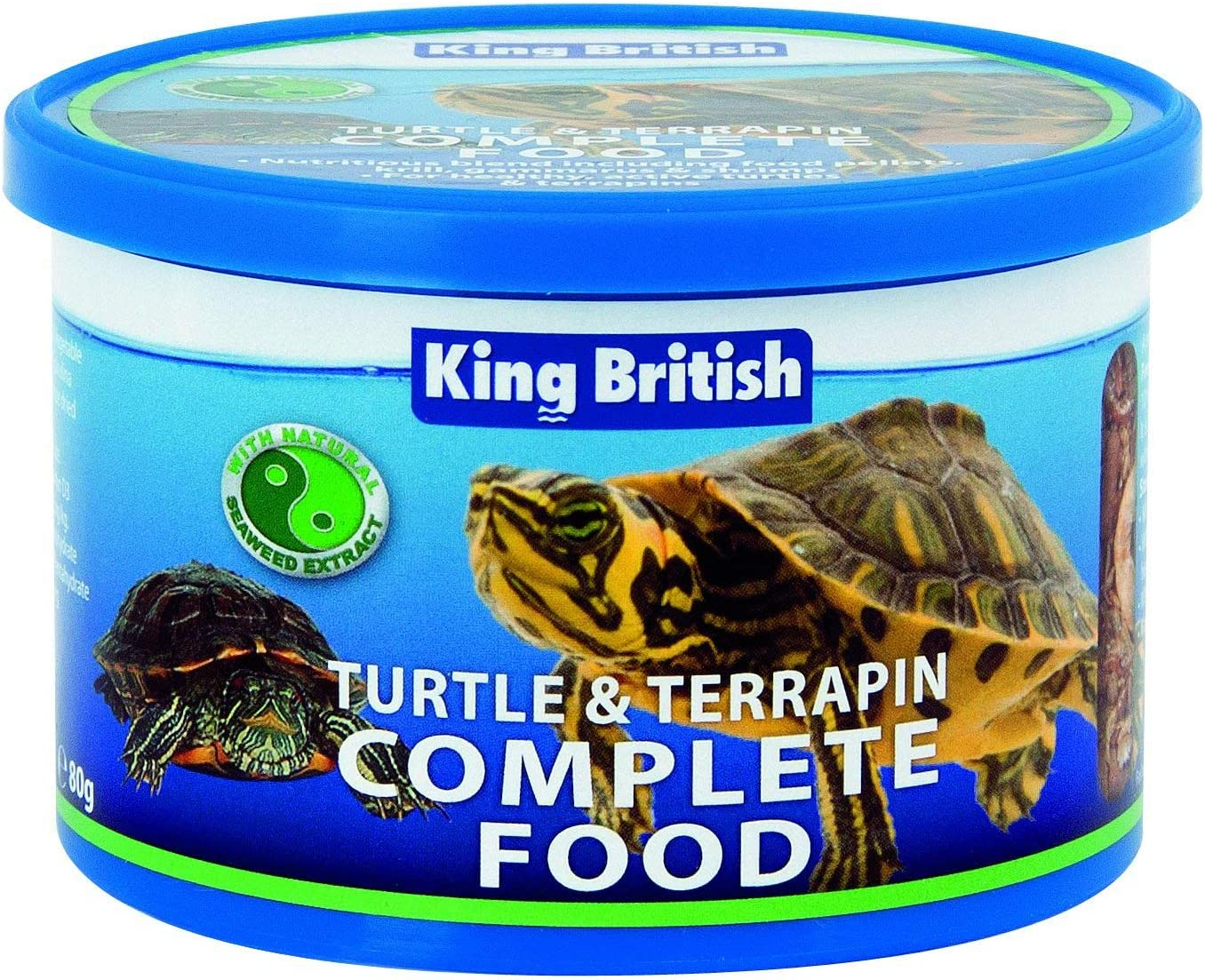 King British Turtle And Terrapin Complete Food - 80g