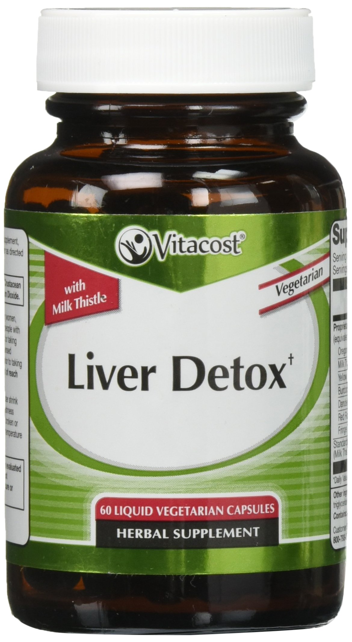 Vitacost Liver Detox -- 60 Vegetarian Capsules by Nutraceutical Sciences Institute (NSI)
