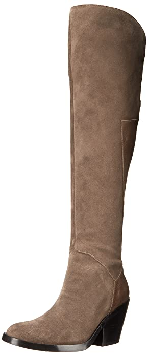 Naya Women's Ansible Riding Boot, Taupe, ...