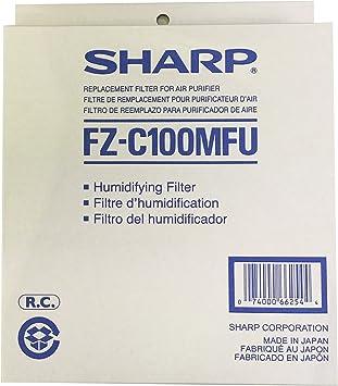 SHARP fz-c100mfu humidificador Filtro de Repuesto para kc-850u ...