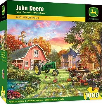 Amazon.com: MasterPieces John Deere - Puzle cruzado ...