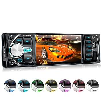XOMAX XM-VRSU414BT Radio de Coche con 4 / 10 cm Pantalla I