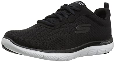e1bac08cacfec Skechers Sport Women's Flex Appeal 2.0 Newsmaker Sneaker,black-17,5 M US