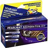 Plextone Headlights Restoration Kit Restore Dull Faded and Discoloured Headlights (estores Oxidation, Hazy, Yellow…