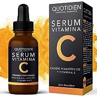 Serum Vitamina C + Ácido Hialurónico + Vitamina E- Serum Facial -95% Ingredientes Naturales- Aclara, Revitaliza…