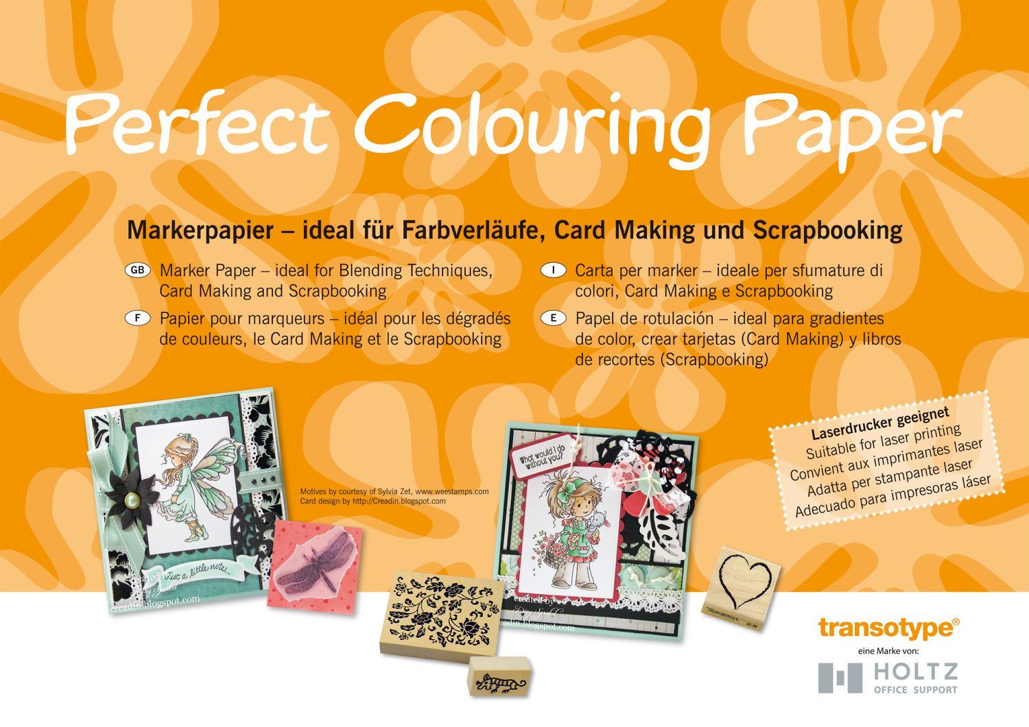 Copic A3 Perfect Colouring Paper (50 Sheets) CZ07051
