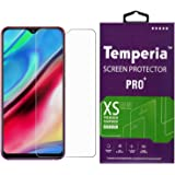 Temperia Tempered Glass Screen Guard Gorilla Protector for Samsung Galaxy M10 with Easy Installation Kit (Full Screen Coverage Except Edges - 11D Original Temper) (Transparent) (Pack of 1)