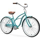 sixthreezero Women's 7-Speed Beach Cruiser Bicycle