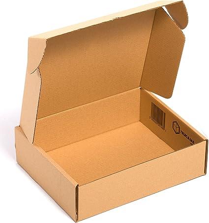 TeleCajas® | (25x) Caja de Cartón Postales Kraft | Cajas ...