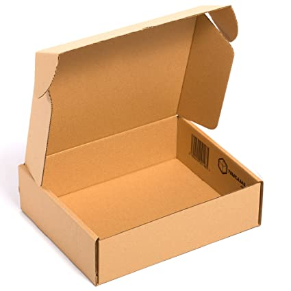 25x) Caja de cartón TeleCajas automontable envíos postales ...