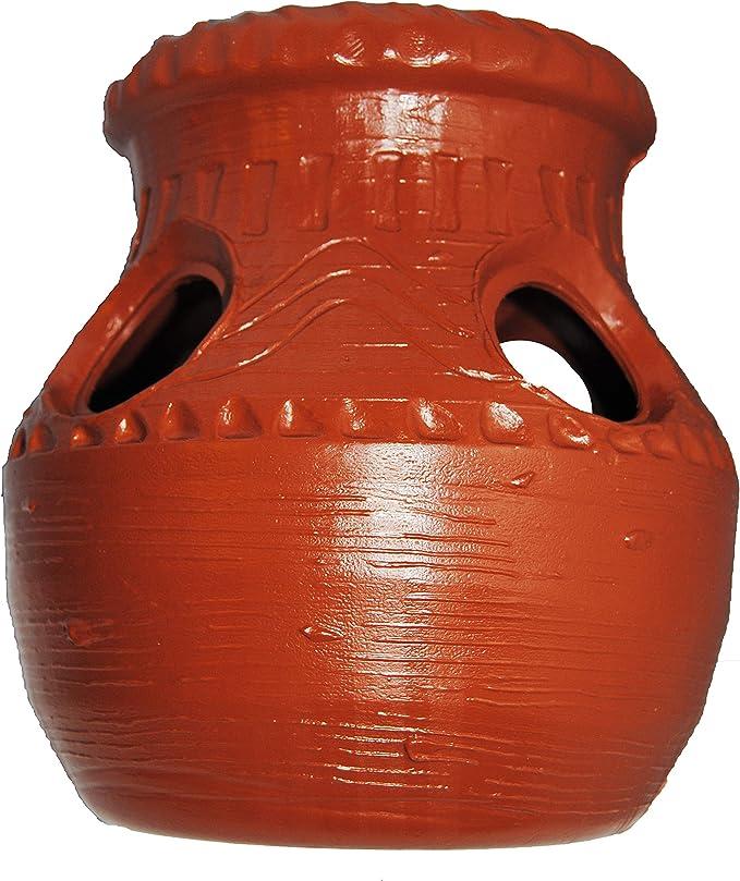 Aztec Durable Terra-Cotta Strawberry Jar