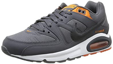 huge selection of b6c25 9be0b chaussures nike air max command enfant grise vue exterieure