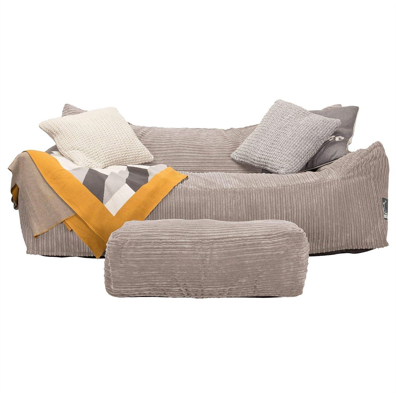 Lounge Pug, CloudSac 1200, Sofá Puf Viscoelástico, Pana ...