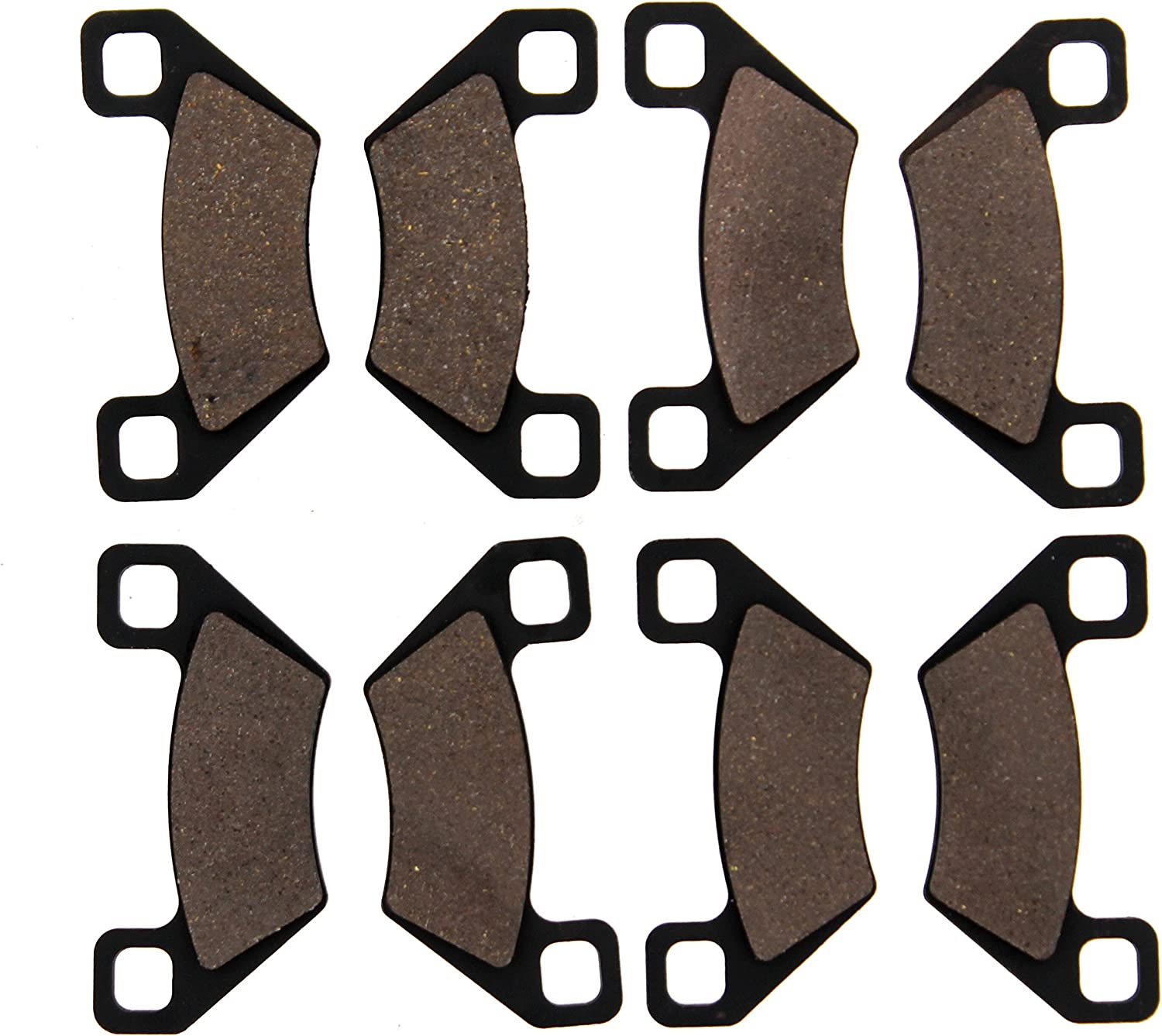 2013-2014 Arctic Cat Wildcat 1000 Front /& Rear Semi-Metallic UTV Brake Pads