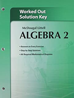 Mcdougal littell algebra 2 holt mcdougal larson algebra 2 ron holt mcdougal larson algebra 2 worked out solutions key fandeluxe Image collections