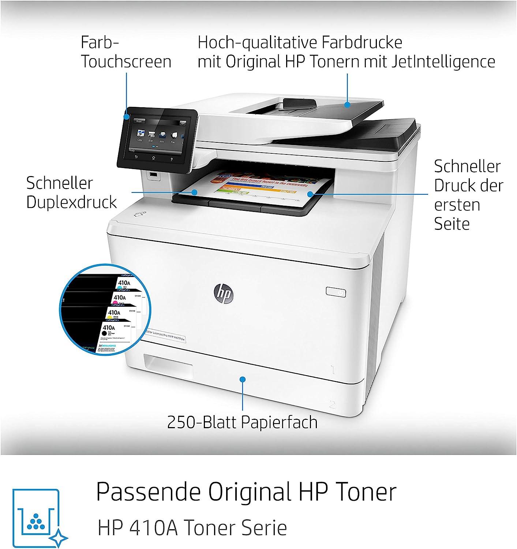 Hp Colour Laserjet Pro Colour Laser Printer Lan Duplex Computers Accessories