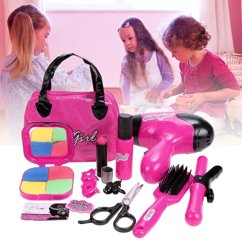 Smibie Kids Girls Pretend Play Beauty Makeup Set Kit Toys for