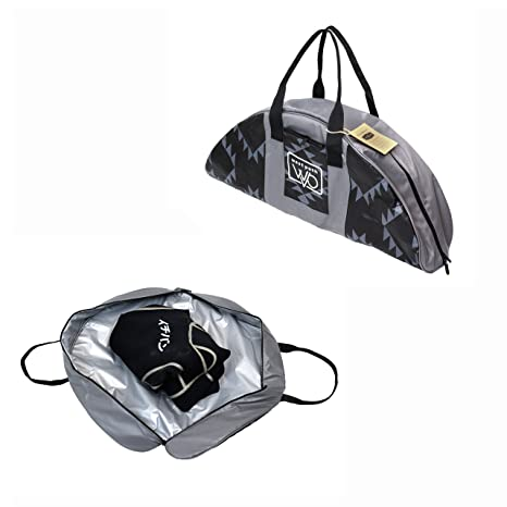 20e2c0105c8d Open Road Goods Wetsuit Changing Mat Bag   Surf Accessory - Full Zipper  Closure with Soft