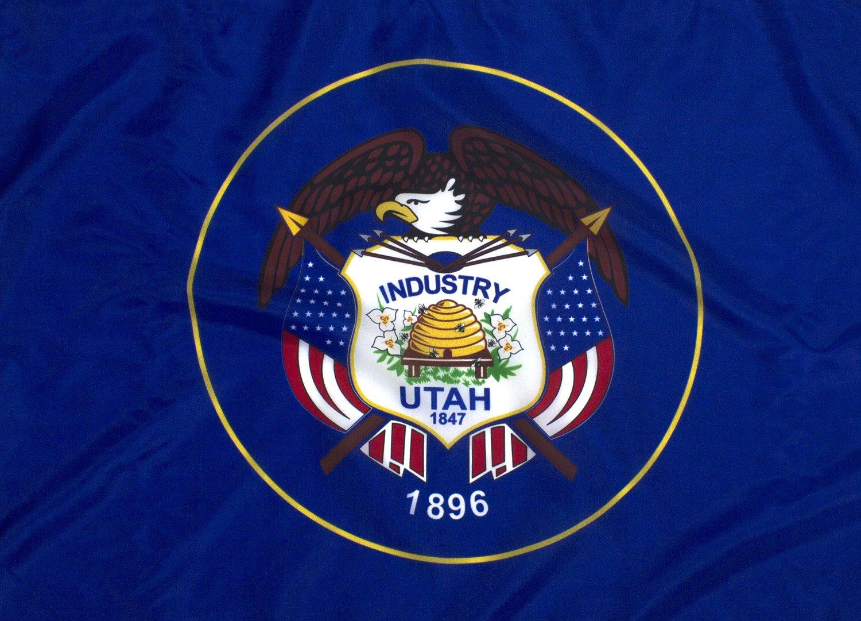 5x8ft Utah Flag - Highest Quality Outdoor Nylon