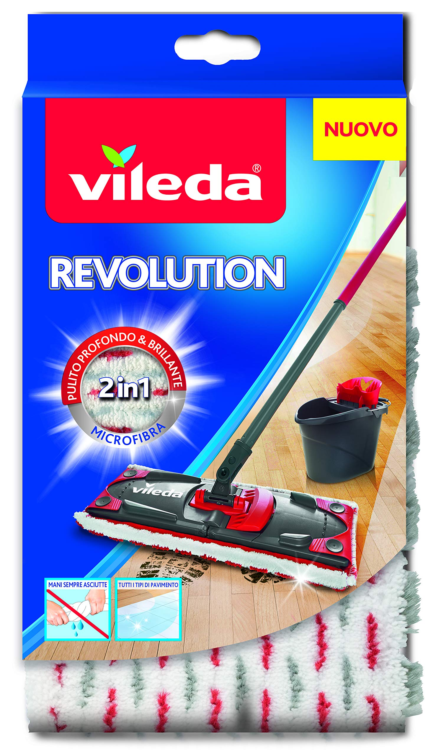 Vileda 132174 SuperMocio Revolution Replacement Microfibre Cloth by Vileda