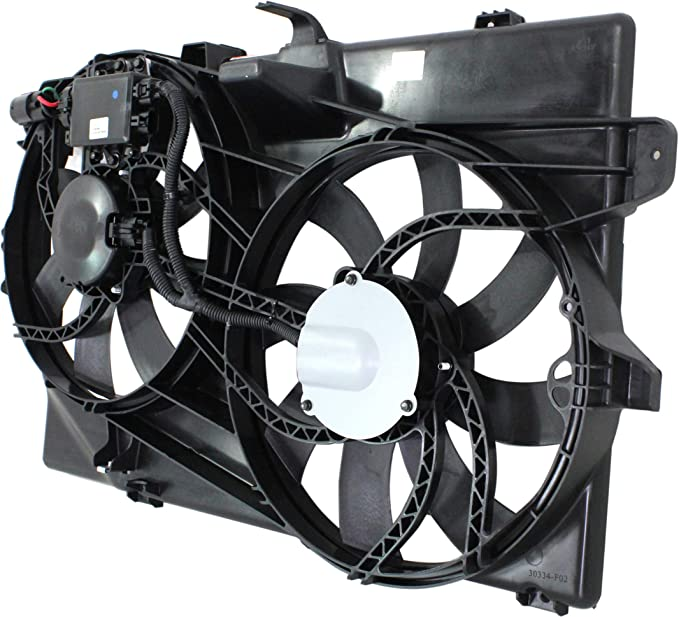 New Radiator Fan Assembly With Towing Package /& Controller Fits Edge FO3115175