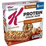 Special K Protein Snack Bars, Caramel Pretzel Cashew, 7.38 oz (6 Count)