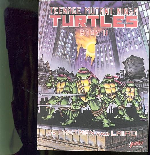 Amazon.com: Teenage Mutant Ninja Turtles Graphic Novel Book ...