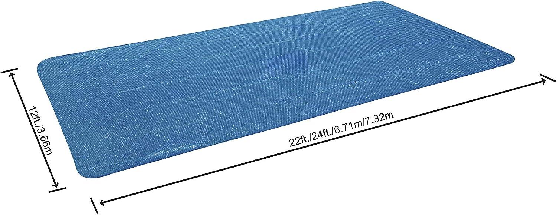 Bestway 58228 - Cobertor Solar para Piscina Desmontable 380x180 cm ...