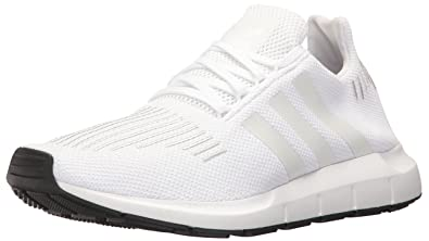 online store 979d8 c6088 Image Unavailable. Image not available for. Color  adidas Originals Men s  Swift Run Shoes,WHITE CRYSTAL WHITE BLACK ...