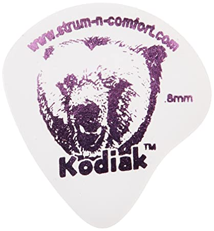 Amazon.com: Strum-N-Comfort SNC-K/M/6 Kodiak 0.80mm Medium Delrin Polymer Flat Picks in a Six Pack: Musical Instruments