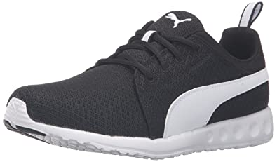 black puma running shoes