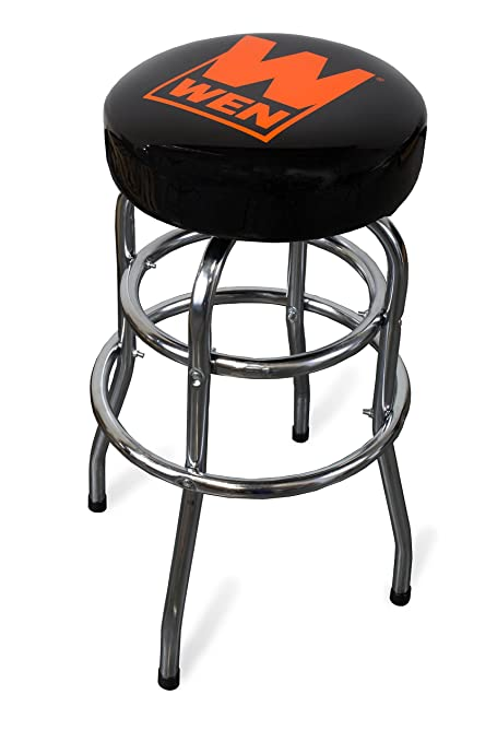 Outstanding Wen 73014 300 Pound Capacity Chrome Plated Bar Stool Amazon Caraccident5 Cool Chair Designs And Ideas Caraccident5Info