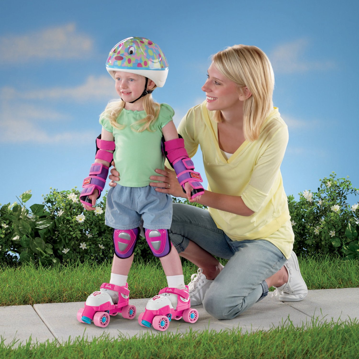 Roller skates for sale dubai - Amazon Com Fisher Price Grow With Me 1 2 3 Roller Skates Pink Toys Games