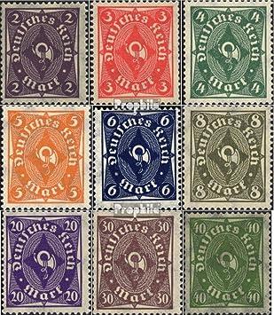 Prophila Collection Deutsches Reich 228P HAN 1922 Posthorn Briefmarken f/ür Sammler