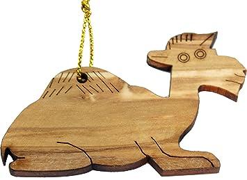Hand carved wooden christmas santa claus folk art set of