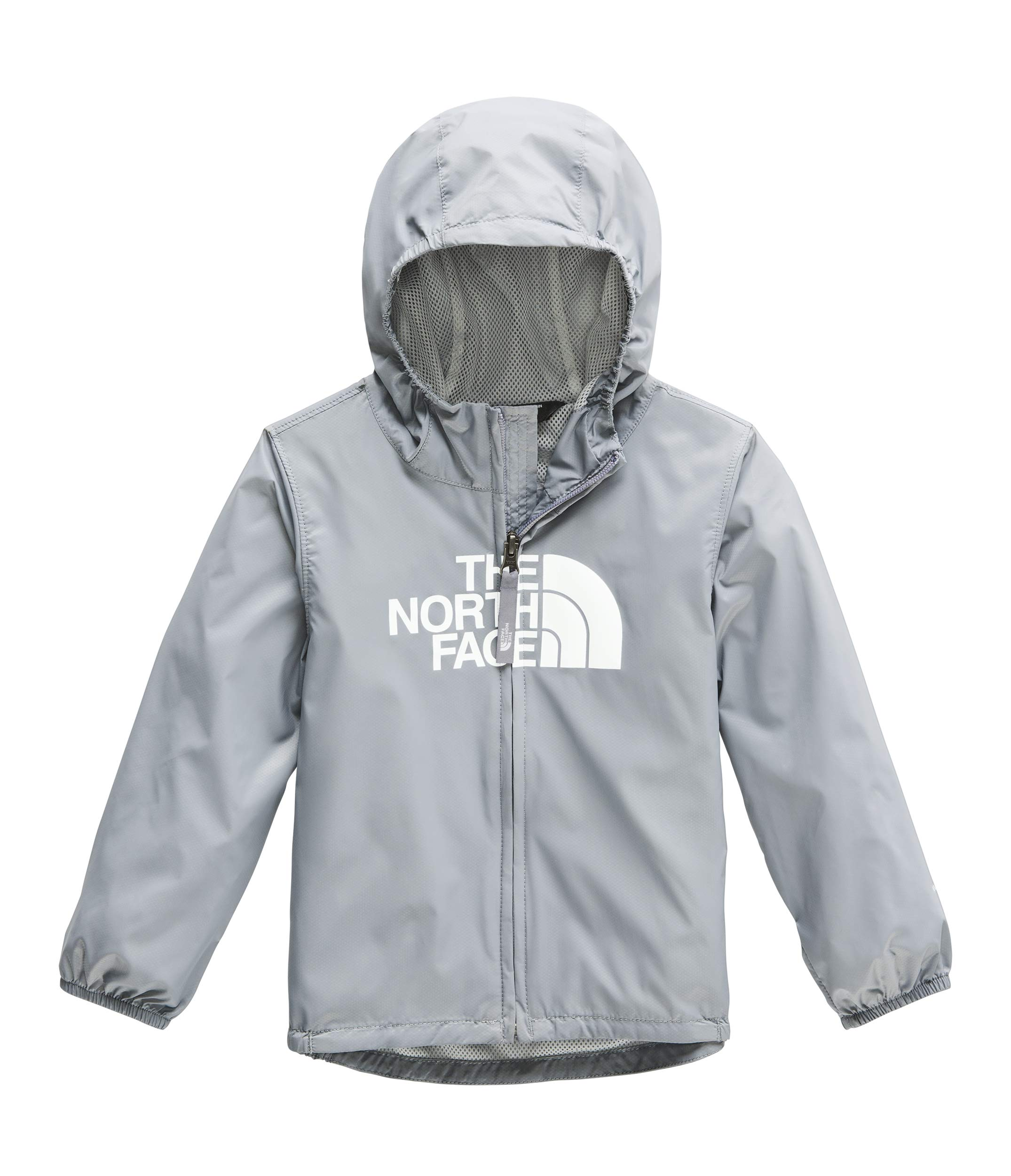 The North Face Kids Baby Boy's Flurry Wind Jacket (Toddler) Mid Grey 2T Toddler