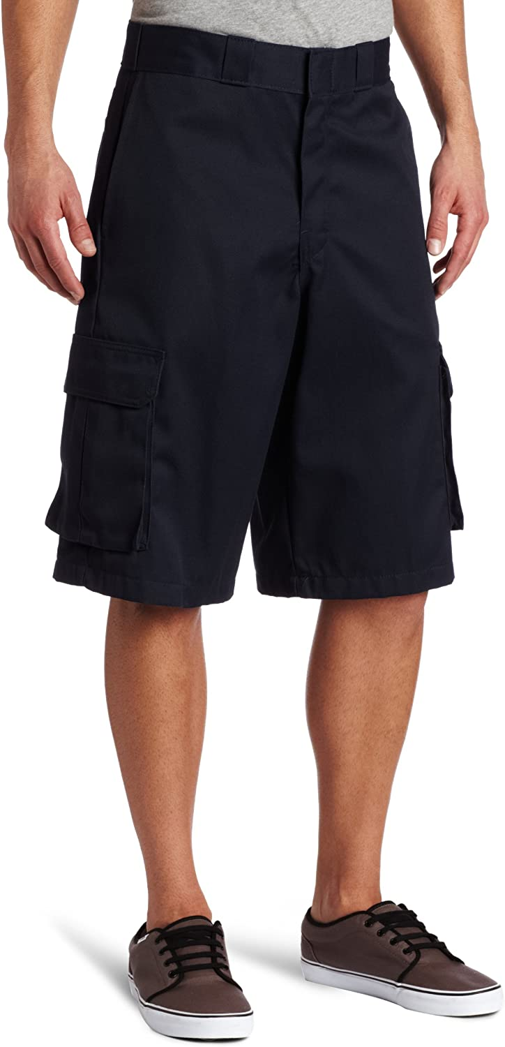 Dickies Mens 13 Inch Relaxed Fit Stretch Twill Cargo Short,