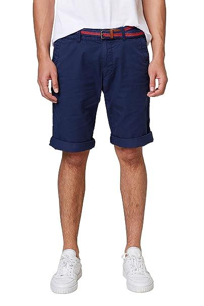 068cc2c001, Pantalones Cortos para Hombre, Azul (Navy 400), W32 (Talla del fabricante: 32) EDC by Esprit