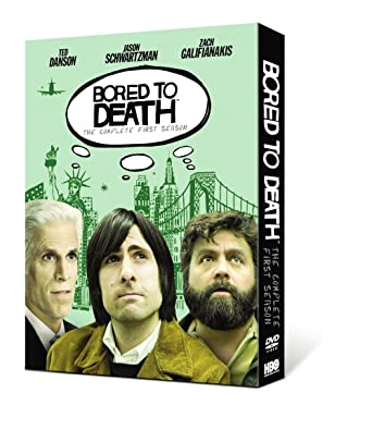 Amazon Com Bored To Death Season 1 Jason Schwartzman Zach Galifianakis Ted Danson Movies Tv