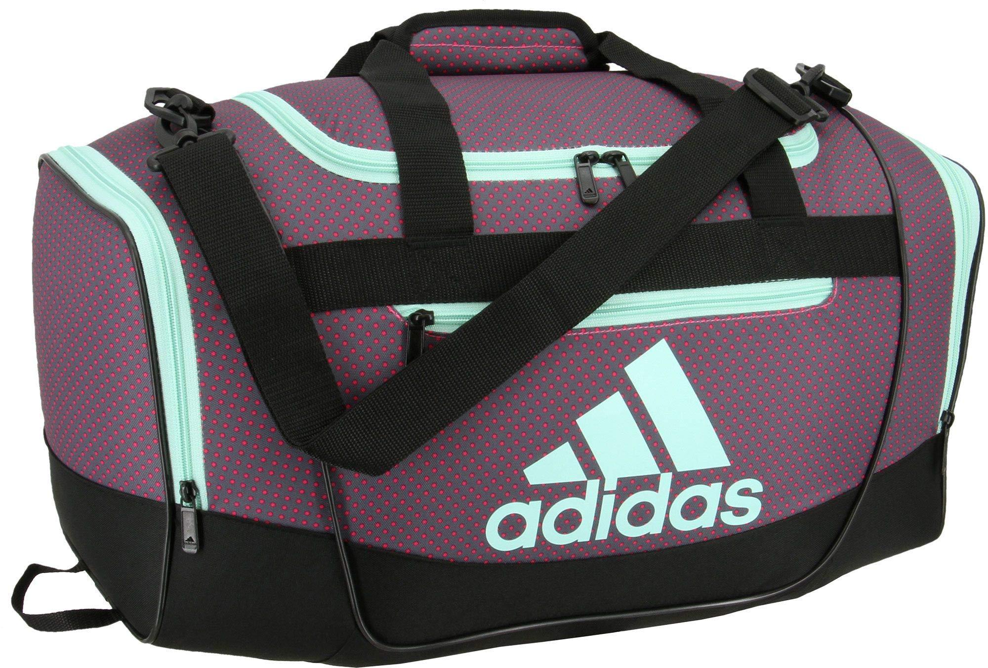 adidas Defender III Small Duffle Bag (Shock Pink Dot)