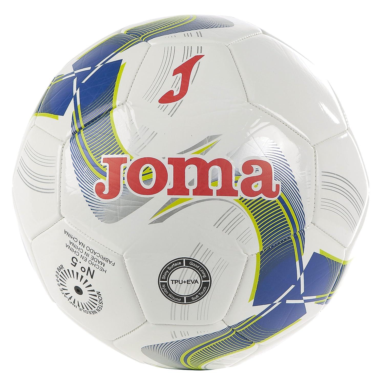 Joma - Balon Academy BL Hombre Color: Blanco Talla: 5: Amazon.es ...