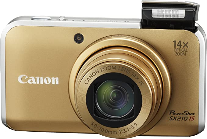 Canon SX210IS Gold product image 3